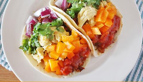 Tacos desayuno