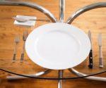 Правильная сервировка стола - нож, вилка, ложка