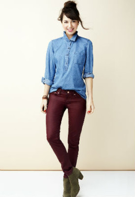 double-denim-colored-jeans-outfit