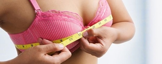 как узнать размер груди