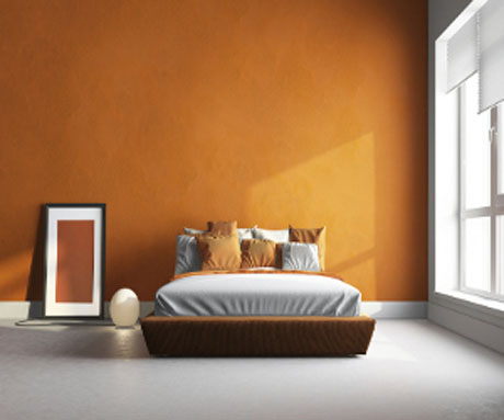 dull-orange-bedroom