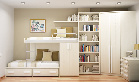 ideas-for-small-rooms-bedroom