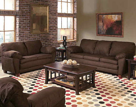brown-living-room-decor