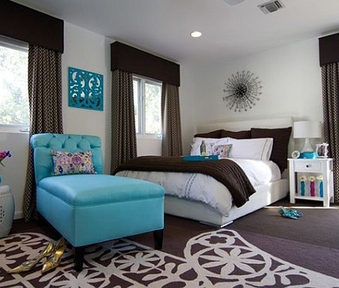 colors-bedroom-turquoise-and-brown