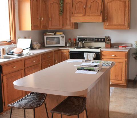 home-design-laminate-oak-cabinets