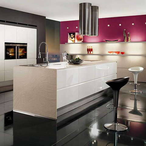 kitchen-decor-black-white-and-pink