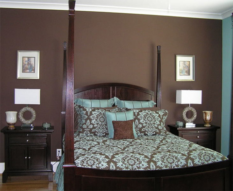 decorate-using-brown-and-teal-bedroom