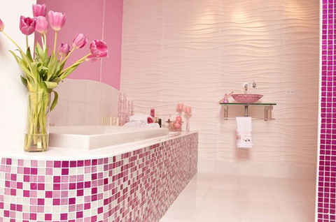 bathroom-mosaic-pink-tiles