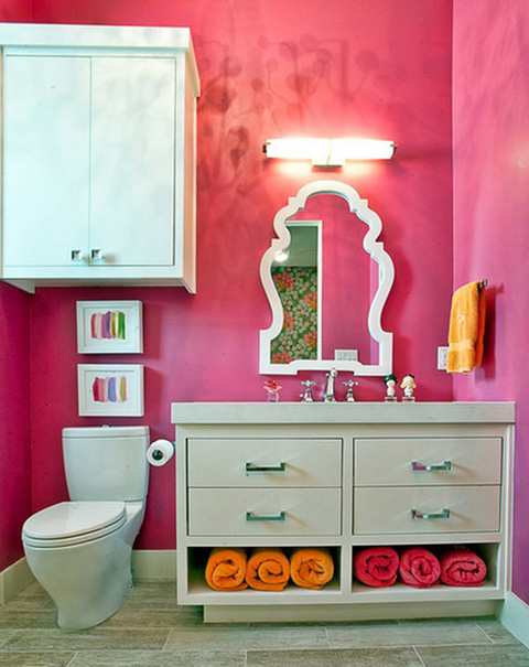 powder-room-pink-walls-bathroom