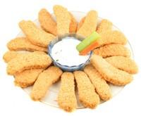 Рецепт - хрустящие куриные полоски