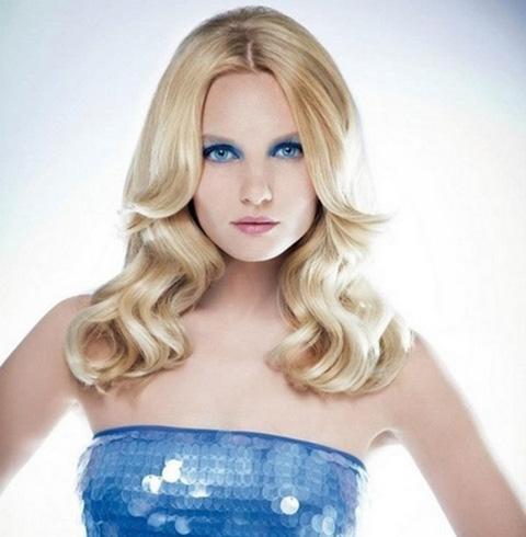 Зимние прически для средней длины волос