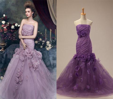 wedding-dress-in-purple-flowers