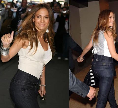 как носить джинсы с высокой талией актуально