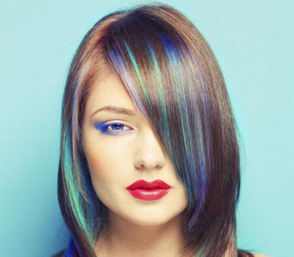 blue-green-highlights