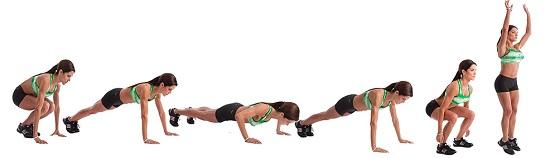 Упражнения бурпи