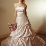champagne-colored-wedding-dress-design