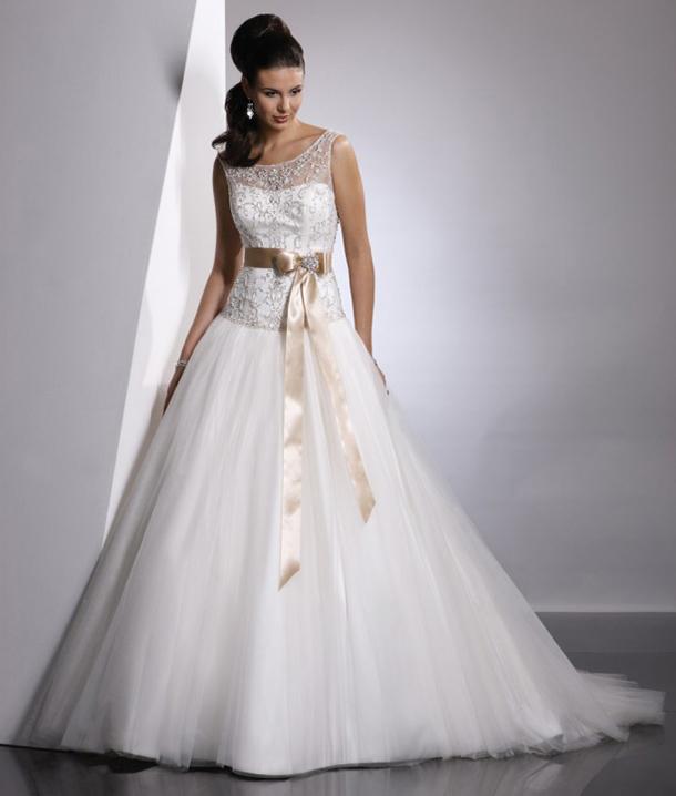 champagne-sash-wedding-dress