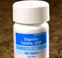 дигоксин побочные эффекты
