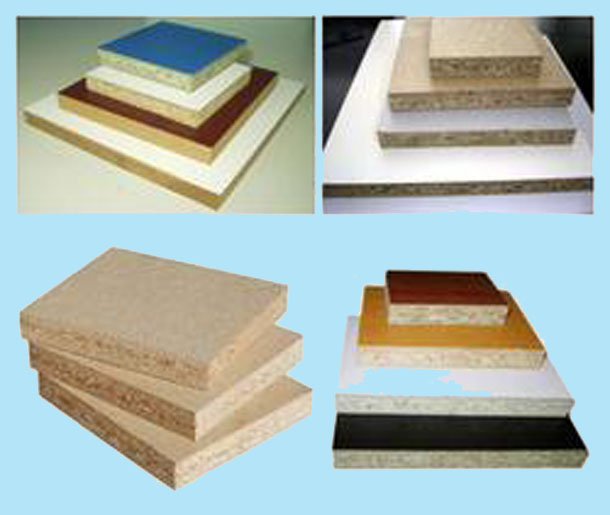 melamine-particleboard