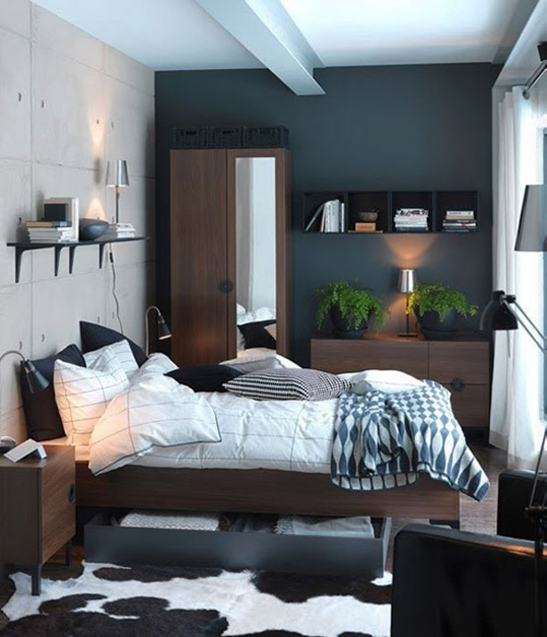 how-to-make-a-smal- bedroom-looking-over