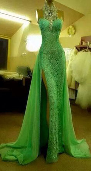 vibrant-green-prom-dress