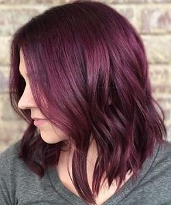 необычный цвет волос