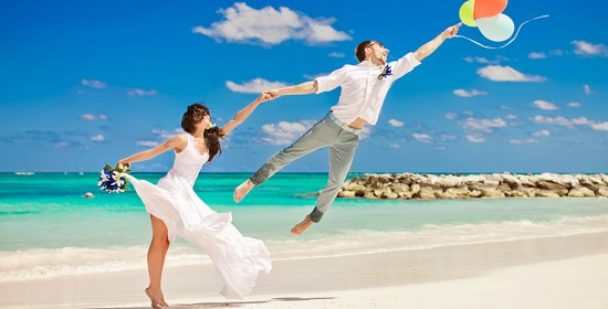 одежда на свадьбу на пляже
