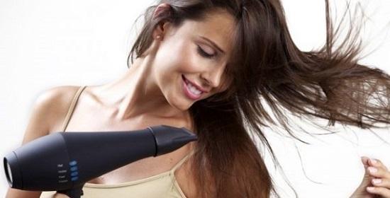 как правильно сушить волосы феном чтобы они были прямыми