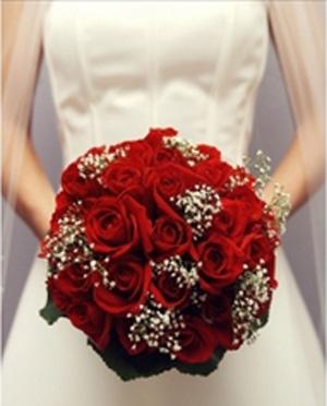 Размер букета для невесты