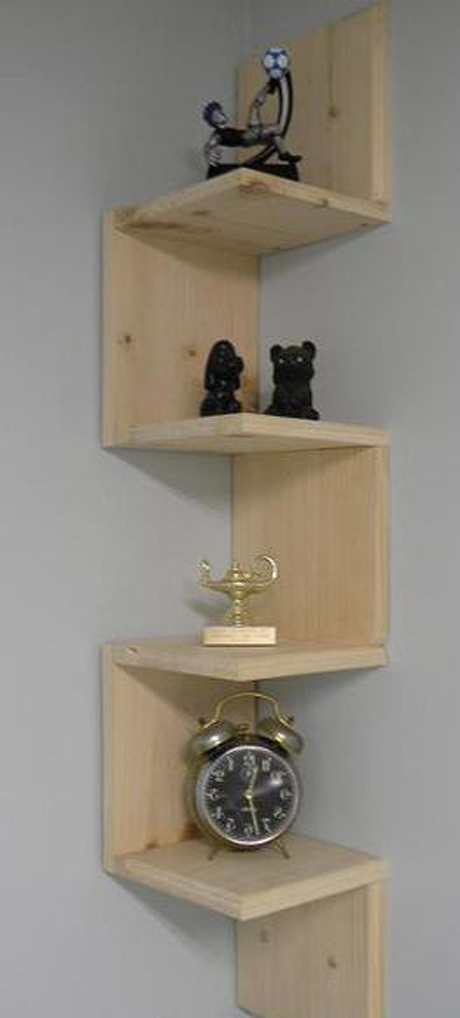 install-wall-mounted-shelves