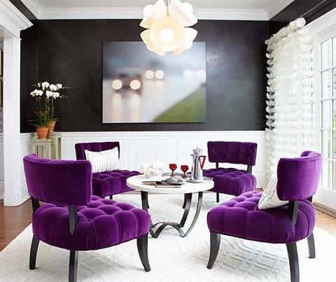 комната в двух цветах