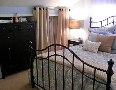 дизайн спальни в старых домах