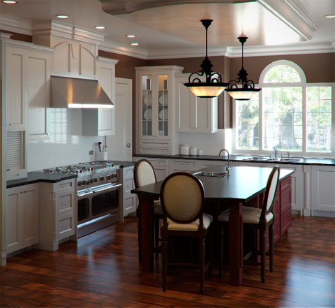 kitchen-design-in-colonial-style