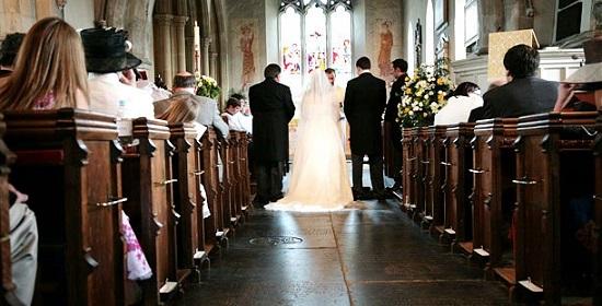 свадебный обет со священником