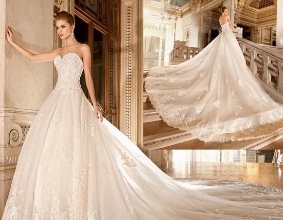 в стиле винтажного свадебного платья