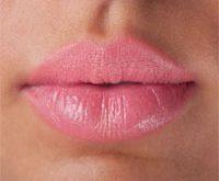 сделать губы розовыми