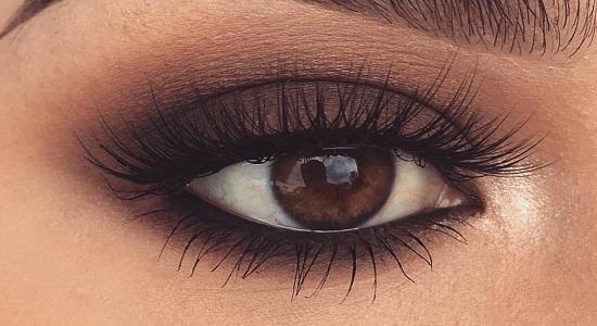 макияж для карих глах