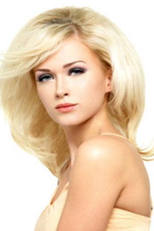 medium-length bob-platinum-blond-hair