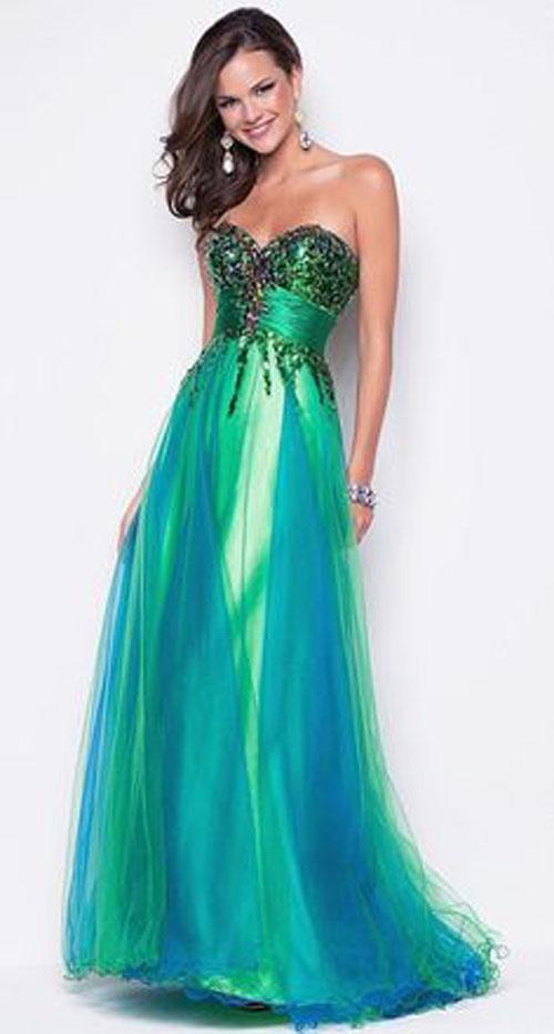 green-prom-dresses