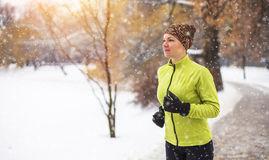 тренировки зимой на улице