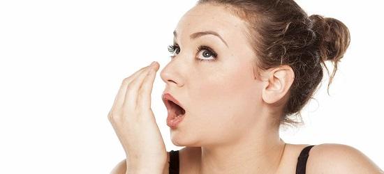 как убрать неприятный запах изо рта
