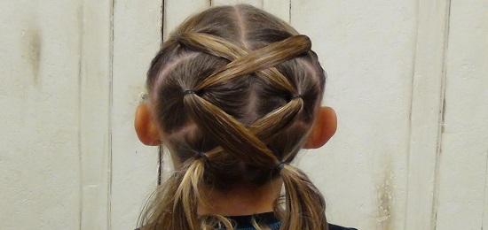 коса свободный крест