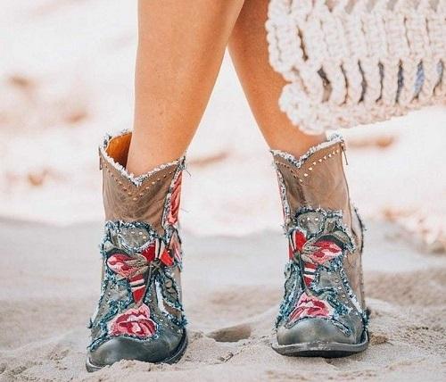 богемная обувь