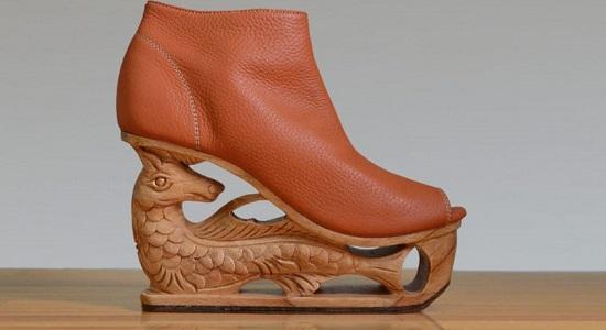 древняя обувь