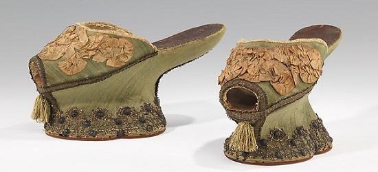 история обувь