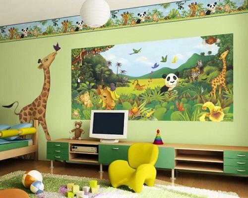 в какой цвет покрасить детскую комнату