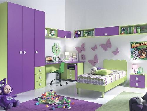 цвет комнаты девочки