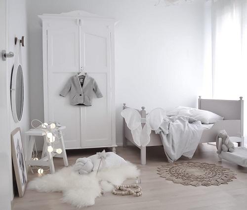 белый цвет детской комнаты