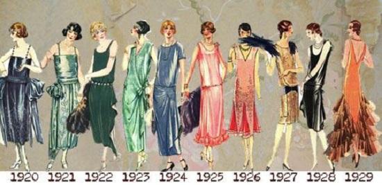 как одевались в 20-х