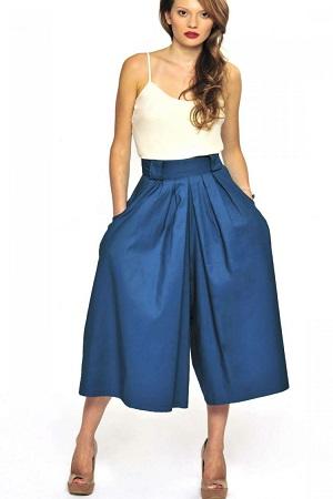 юбка-брюки кюлоты